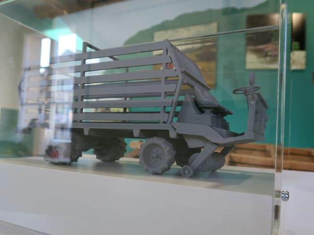 Ein Modell eines Schilter-Fahrzeugs