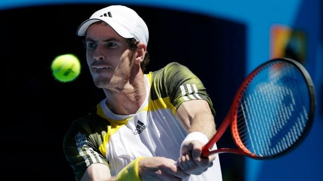 Andy Murray benötigte gegen Robin Haase lediglich etwas mehr als eineinhalb Stunden.