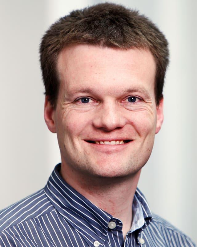 Portraitaufnahme von Prof. Reto Knutti