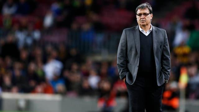 Gerardo Martino steht an der Seitenlinie bei seinem letzten Arbeitgeber Barcelona