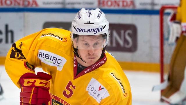 Yves Müller auf dem Eis.