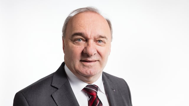 GPDel-Präsident Alex Kuprecht:
