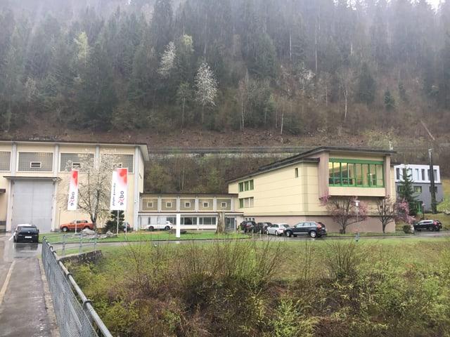 Centrala da la Axpo Hydro Surselva