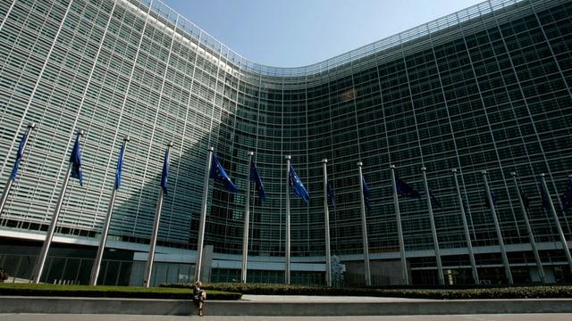 EU-Kommissionsgebäude in Brüssel