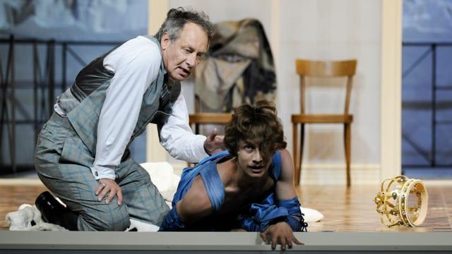 Szenenbild aus «Richard Wagner - wie ich Welt wurde»