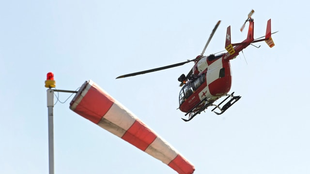 helicopter da la Rega