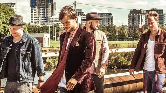 Die 4 Musiker von 77 Bombay Street