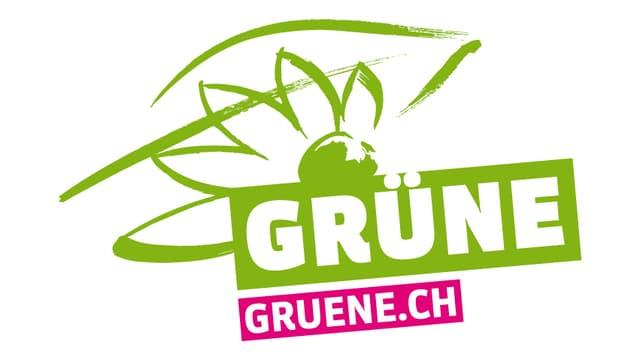 Logo der grünen Partei.