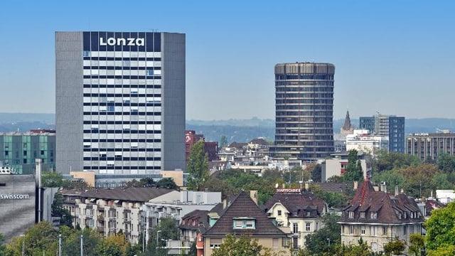 Lonza Gebäude in Basel