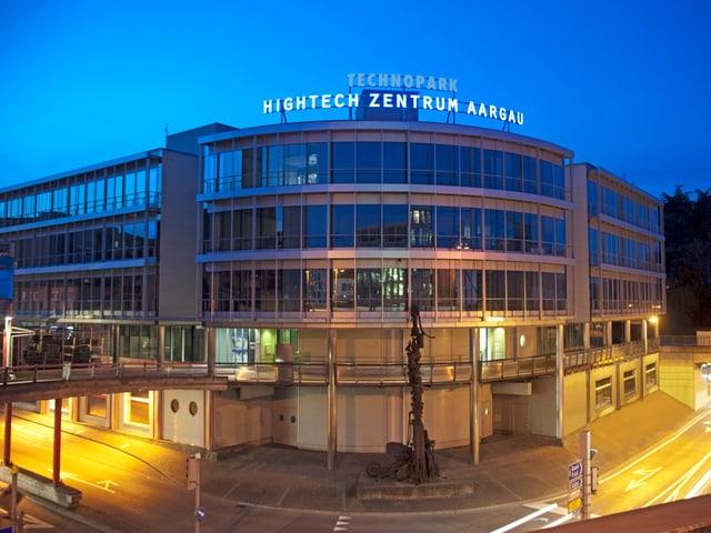Das Hightech Zentrum Aargau in Brugg.