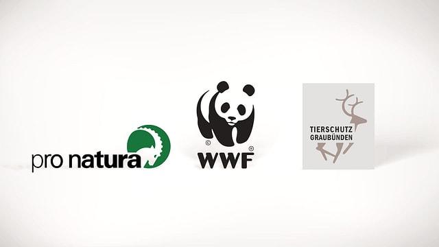 logos da pronatura, wwf, tierschutz