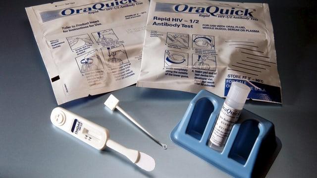 Test da HIV.