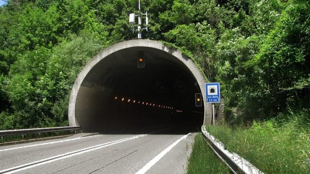 Colonnas duain vegnir evitadas - ina proposta è in segund tunnel.