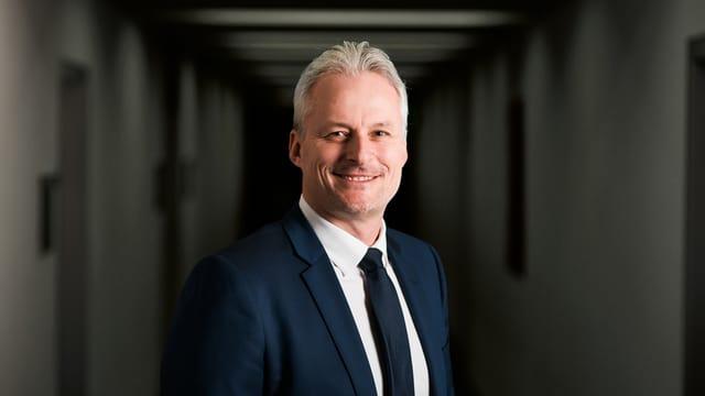 Roger Schneider von der FDP Glarus