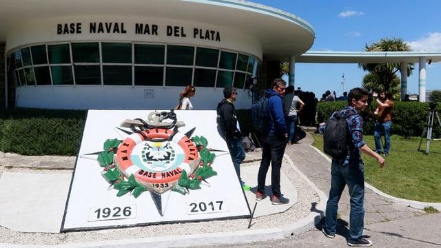 Marinebasis in Argentinien.
