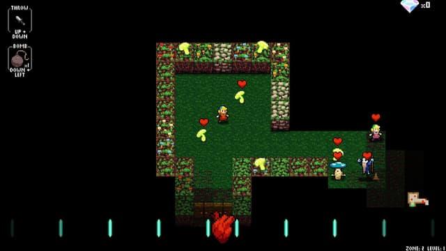 Cadence in Zone 2: Alles so schön grün hier. Und pixelig!