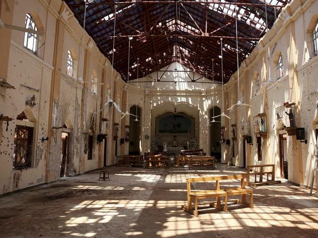 St.-Sebastian-Kirche von innen