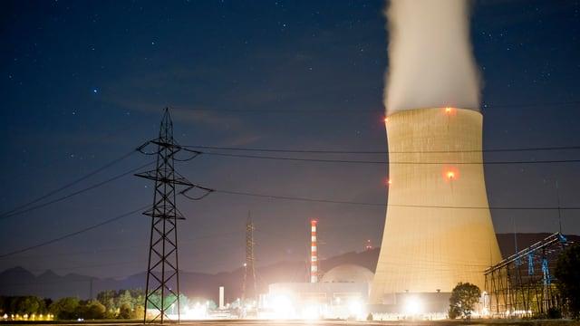 L'ovra atomara a Gösgen.
