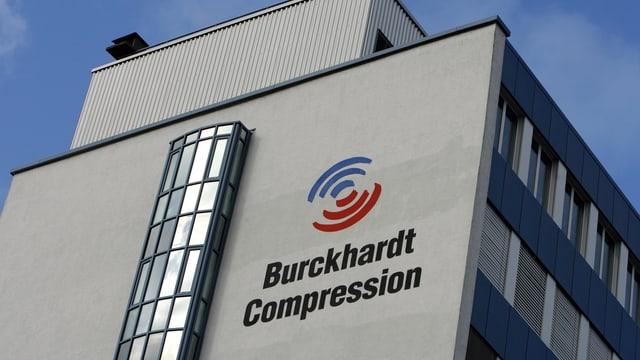 Das Gebäude von Burckhardt Compression im Bild.