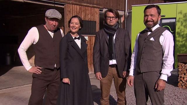 Video «Gewinner Spezial – Tag 1 – Restaurant Liebhaberei, Rain» abspielen