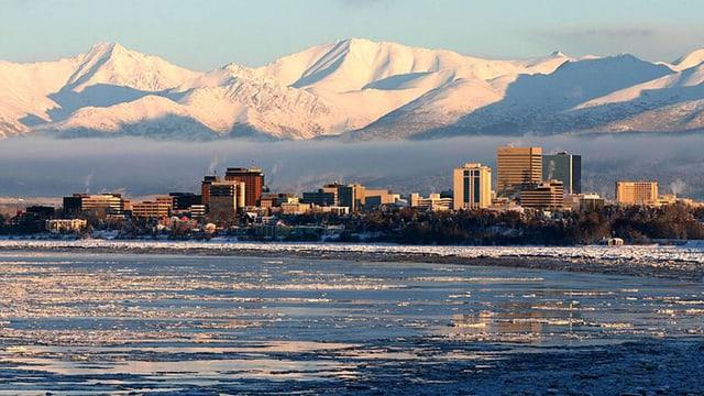 Skyline von Anchorage