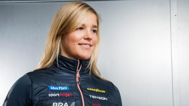 Skicrosserin Anna Holmlund ist aus dem künstlichen Koma erwacht.