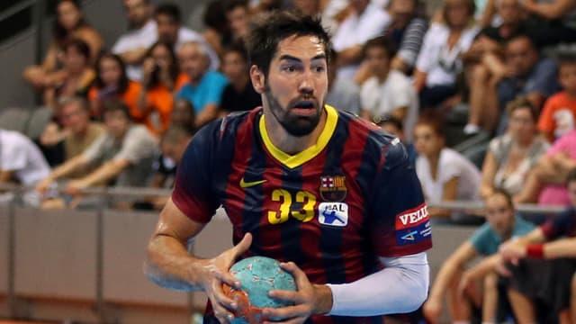 Der französische Welthandballer von 2007, Nikola Karabatic, ist nur eines von vielen prominenten Gesichtern bei Barcelona.