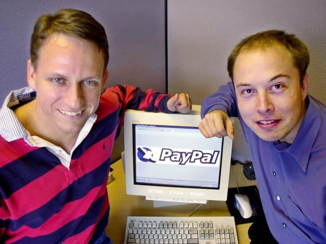 Peter Thiel und Elon Musk