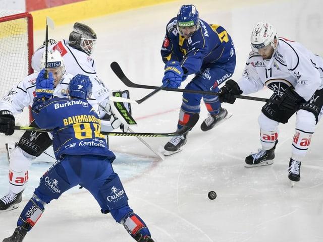 Genf schlägt die Lakers - Davos verschärft die Krise des HC Lugano