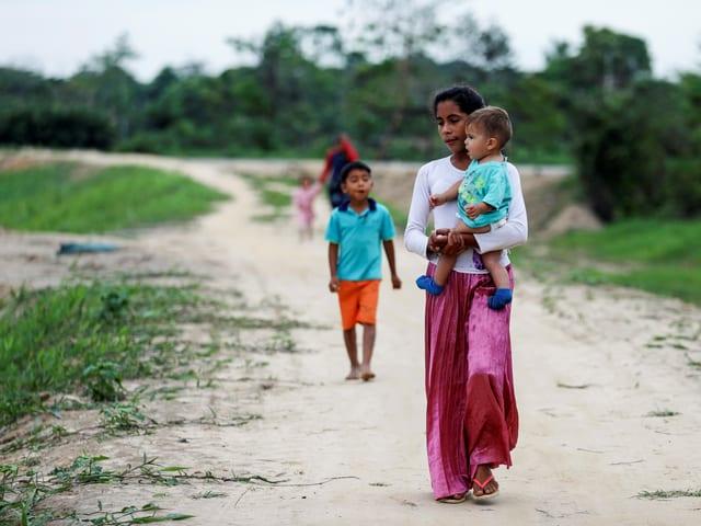 Venezolaner bildeten die zweitgrösste Bevölkerungsgruppe der weltweiten Flüchtlinge.