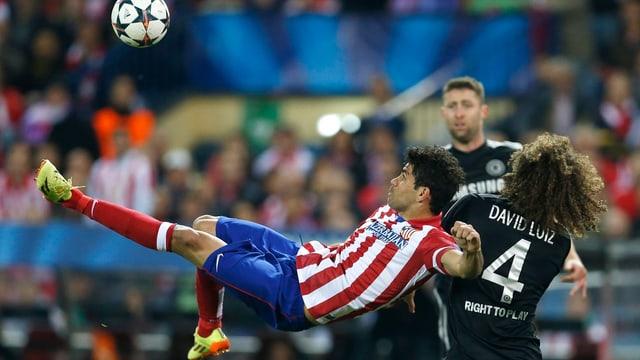 Diego Costa beim Fallrückzieher