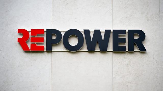 Il logo da Repower.