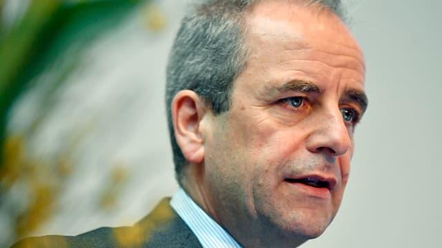 Verwaltungsratspräsident und Konzernchef Alexander von Witzleben