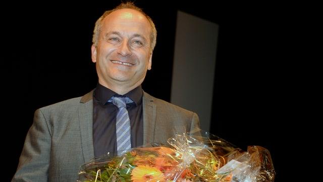 Konrad Langhart traglischa suenter si'elecziun sco nov president da la PPS dal chantun da Turitg.