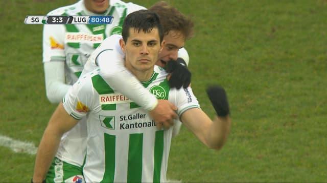 Aleksic ballt die Faust