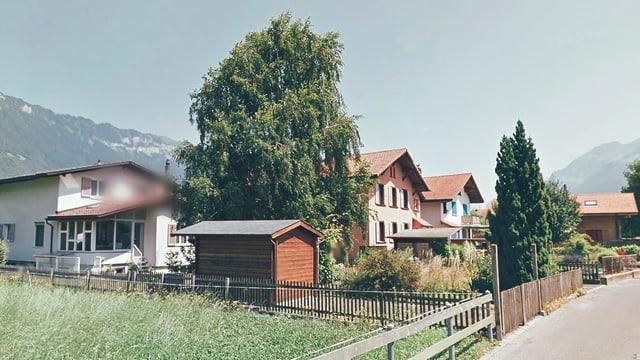 Der einzige Ausflug nach Interlaken wegen einer warmen Dusche.
