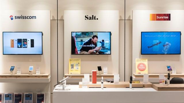 Mobilezone bitta Salt or da lur fatschentas.