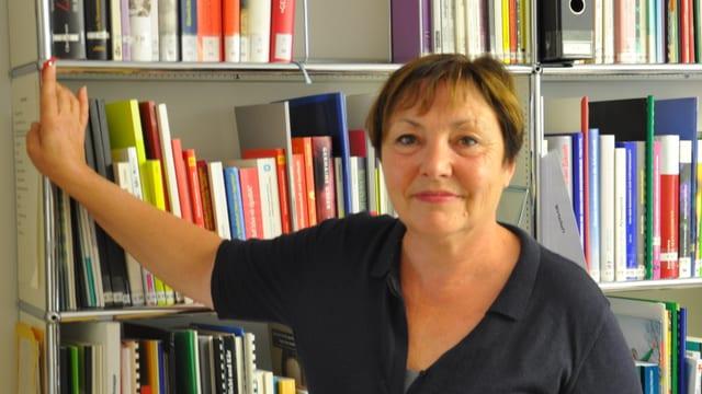 Silvia Hofmann, la manadra dal post per dumondas d'egualitad dal Grischun.