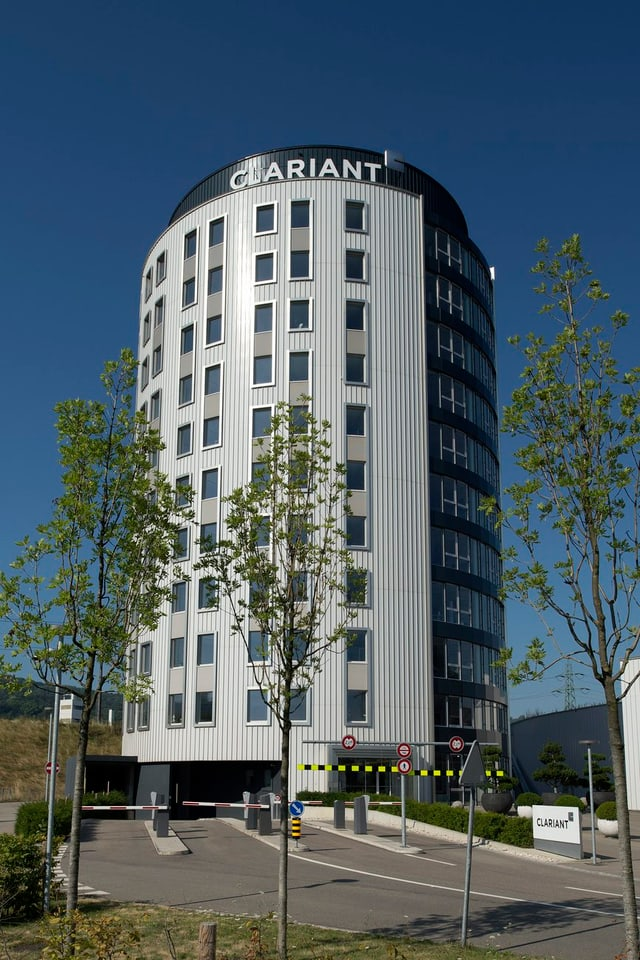 Hauptgebäude Clariant.