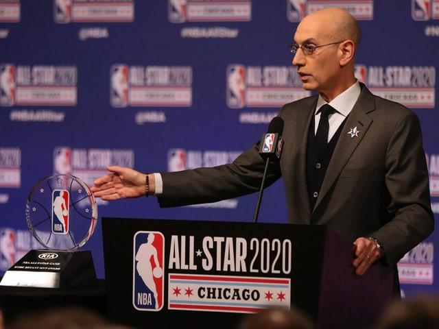 NBA-Boss Adam Silver.