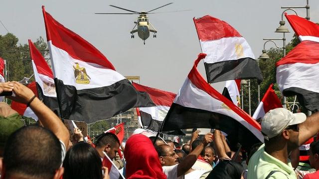 In protest en l'Egipta.