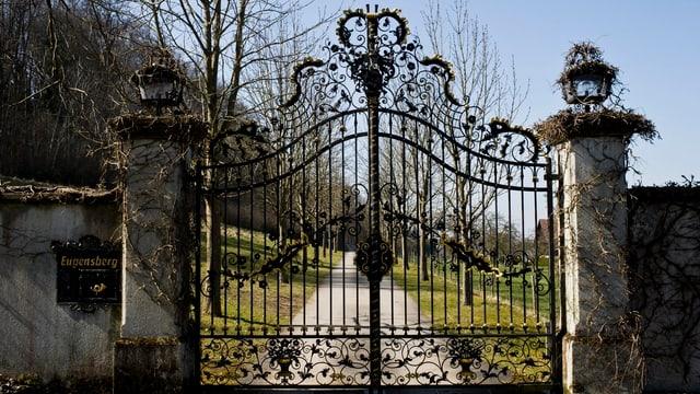 Eingangstor Schloss Eugensberg