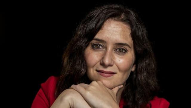Isabel Diaz Ayuso, die amtierende Regionalpräsidentin von Madrid.