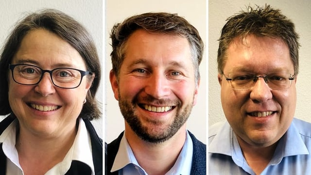 Annetta Steiner, Kaspar Bopp und Zeno Dähler