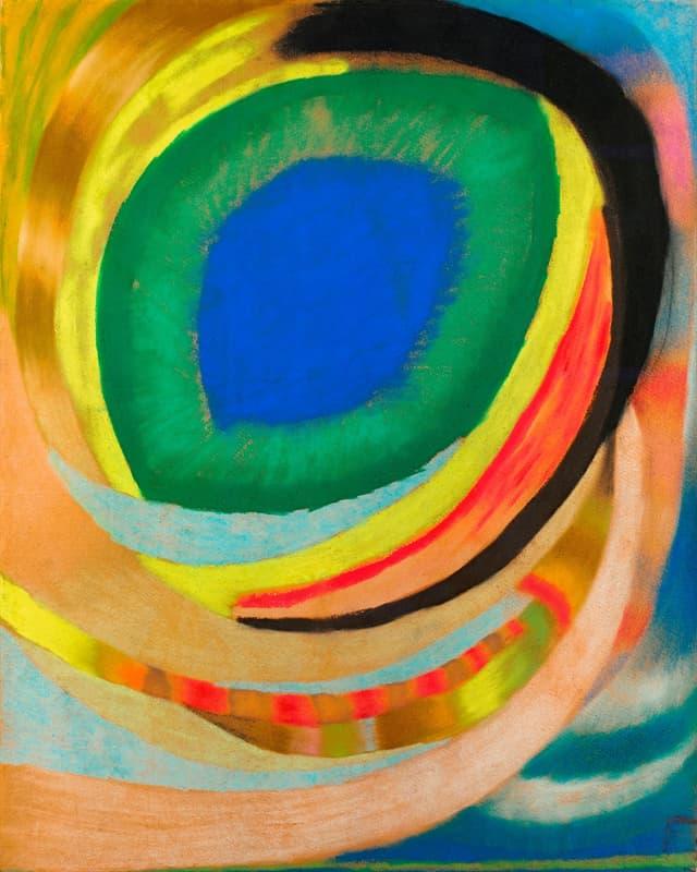 Otto Freundlich: Kosmisches Auge, 1921/22.