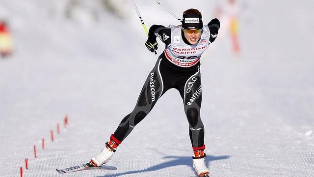 Laurien van der Graaff sin ils skis da passlung