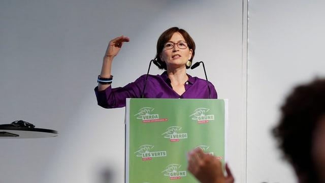 Regula Rytz, Präsidentin Grüne