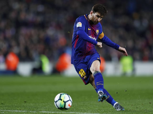 Das Tor von Messi reichte Barcelona nicht zum Sieg.