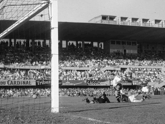 Der WM-Viertelfinal von 1954 zwischen der Schweiz und Österreich auf der Pontaise