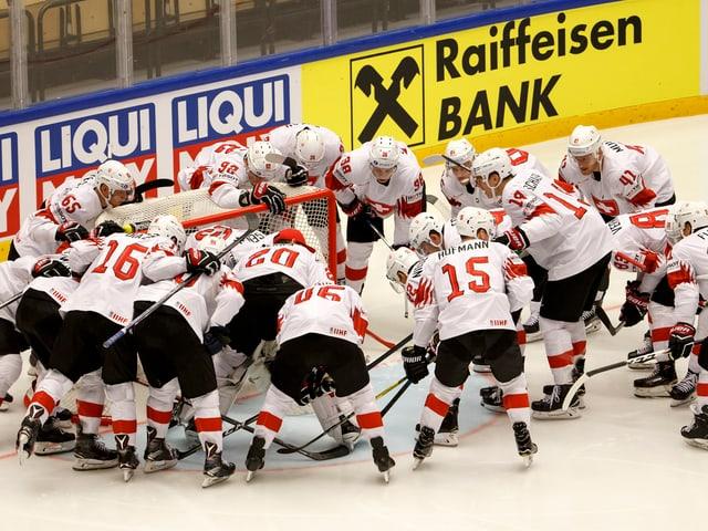 Die Schweizer Nati vor dem Halbfinal gegen Kanada